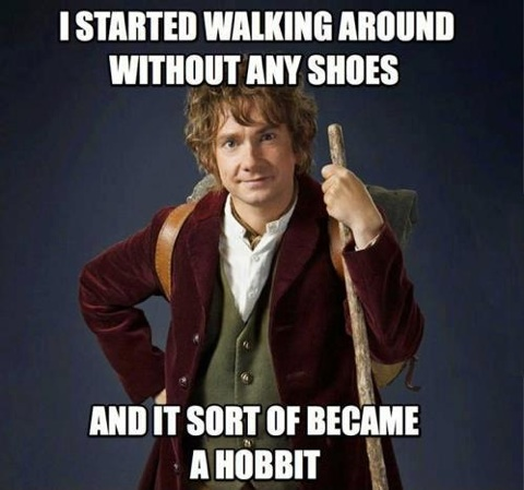 became a hobbit